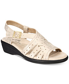Easy Street Roxanne Wedge Sandals