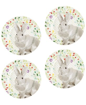 Martha Stewart Collection Set Of 4 Bunny Plates Created for Macyu0027s  sc 1 st  Macyu0027s & Martha Stewart Collection Set Of 4 Bunny Plates Created for Macyu0027s ...