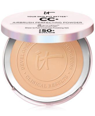 Your Skin But Better CC+ Airbrush Perfecting Powder Illumination SPF 50+