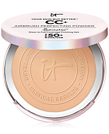 IT Cosmetics Your Skin But Better CC+ Airbrush Perfecting Powder Illumination SPF 50+