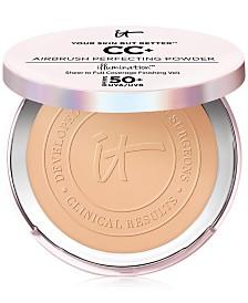 IT Cosmetics Your Skin But Better CC+ Airbrush Perfecting Powder Illumination SPF 50+