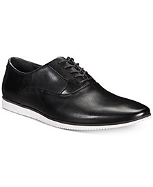 Bar III Men's Warner Casual Smooth Lace-Up Oxfords, Created for Macy's