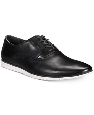 Bar Iii Men S Warner Casual Smooth Lace Up Oxfords Created For