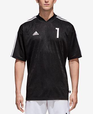 Adidas hombre 's ClimaLite ® Jacquard camiseta de fútbol, creado para Macy' s