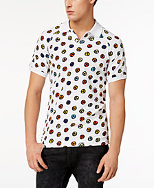 Love Moschino Men's Graphic-Print Polo Shirt