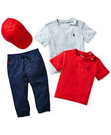 Ralph Lauren Baby Boys Sporty Style Ensemble
