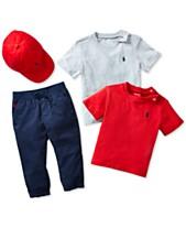 a58e60db78bb Polo Ralph Lauren Baby Boys Sporty Style Ensemble