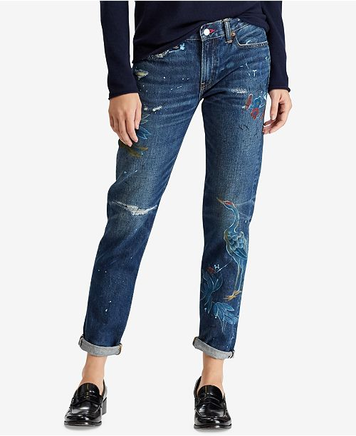 82ae95aa6 Polo Ralph Lauren Astor Slim Boyfriend Jeans   Reviews - Jeans ...