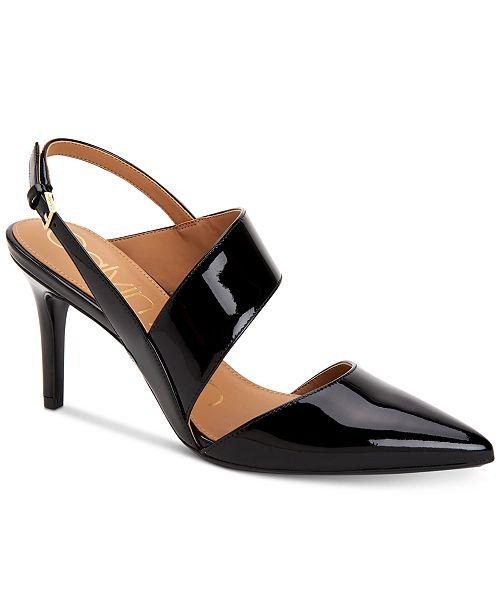 77f18305a0d Calvin Klein Gianna Pumps   Reviews - Pumps - Shoes - Macy s