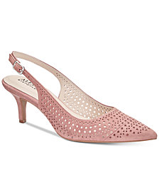 Alfani Women's Step 'N Flex Brezee Slingback Pumps, Created For Macy's