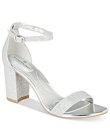 Bandolino Armory Two-Piece Block Heel Sandals