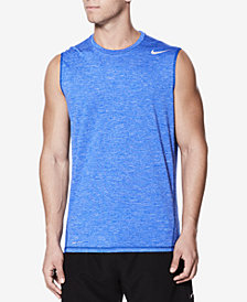 Nike Men's Hydroguard Sleeveless Rash Guard