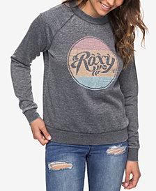 Roxy Juniors' Graphic Logo Sweatshirt