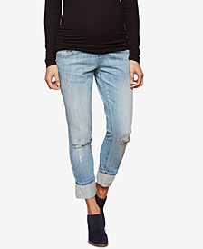 Cropped Boot-Cut Jeans