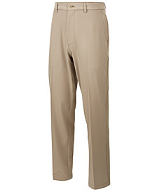 Greg Norman for Tasso Elba Men's Light Weight 4-Way Stretch Pants, Created for Macy's
