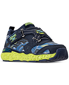 Skechers Little Boys' Skech-X: Cosmic Foam Portal-X Casual Sneakers from Finish Line