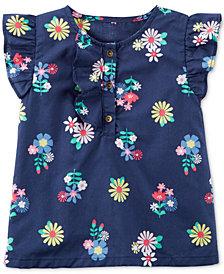 Carter's Floral-Print Cotton Top, Little Girls & Big Girls