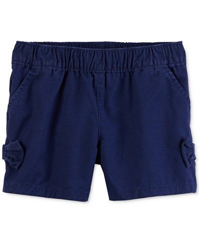 Carter's Cotton Side-Bow Shorts, Toddler Girls
