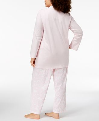 Charter Club Plus Size 3 Piece Pajama Set Created For Macy S Bras