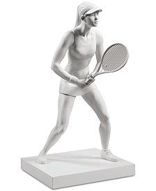Lladró Lady Tennis Player Figurine