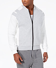 Sean John Men's Pieced Bomber Jacket, Created for Macy's