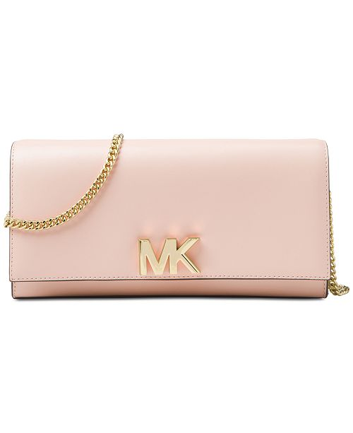 59f29ec9ab1 Michael Kors Mott Leather East-West Clutch & Reviews - Handbags ...