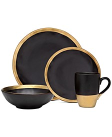 Golden Onyx 4-Pc. Place Setting