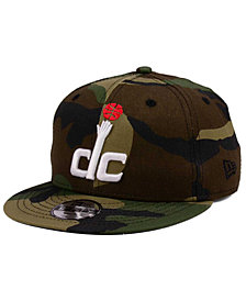 New Era Boys' Washington Wizards Woodland Team 9FIFTY Snapback Cap