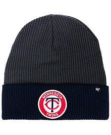 '47 Brand Minnesota Twins Ice Block Cuff Knit Hat