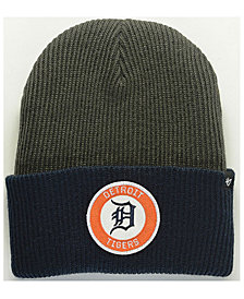 '47 Brand Detroit Tigers Ice Block Cuff Knit Hat