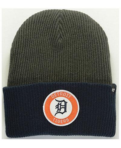 '47 Brand Detroit Tigers Ice Block Cuff Knit Hat