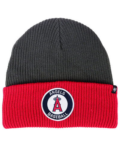 '47 Brand Los Angeles Angels Ice Block Cuff Knit Hat