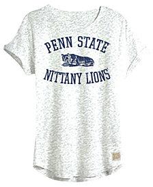 Retro Brand Women's Penn State Nittany Lions Slub Rolled Sleeve T-Shirt