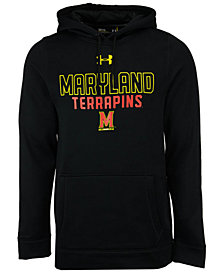 Under Armour Men's Maryland Terrapins Speedy Armour Fleece Hoodie