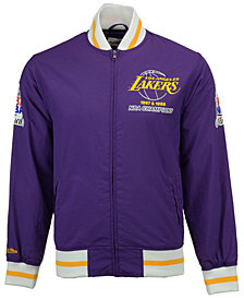 Mitchell & Ness Men's Los Angeles Lakers Team History Warm Up Jacket