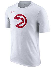 Nike Men's Atlanta Hawks Hardwood Classics Logo T-Shirt