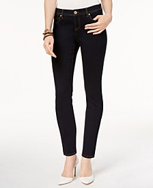 INC Petite Curvy Skinny Tummy Control Jeans, Created for Macy's