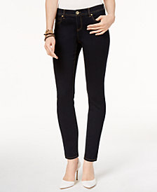 I.N.C. Petite Skinny Tummy Control Jeans, Created for Macy's
