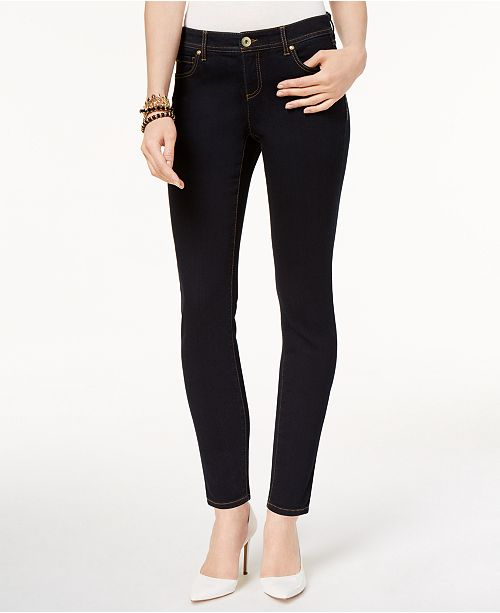 INC International Concepts INC Petite Skinny Tummy Control Jeans, Created for Macy's