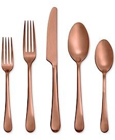 Skandia Mirabella Satin Copper 5-Pc. Place Setting