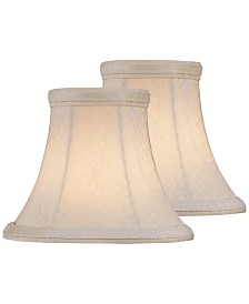 "Lite Source Set of 2 Clip-on 5"" Chandelier Shade"