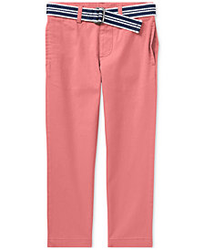 Ralph Lauren Pants & Belt Set, Toddler Boys