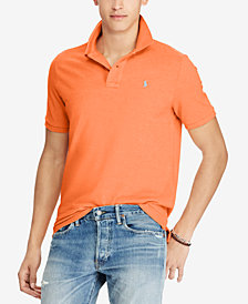 mens orange polo shirt ralph lauren boys