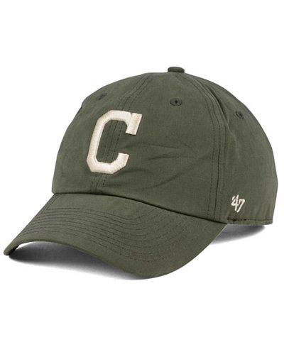 '47 Brand Cleveland Indians Harvest CLEAN UP Cap