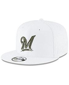 New Era Milwaukee Brewers Fall Shades 9FIFTY Snapback Cap