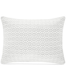 "Piper & Wright Ansonia Indigo Boudoir 20"" x 12"" Decorative Pillow"