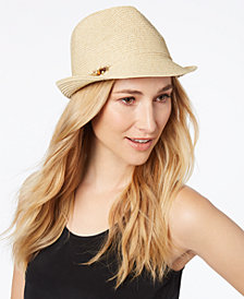 Nine West Charms Packable Fedora