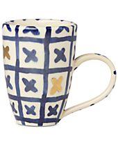 Crafted by Wainwright Pompeii Blu Land Mug