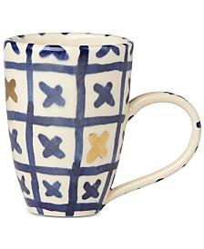 Lenox-Wainwright Pompeii Blu Land Mug
