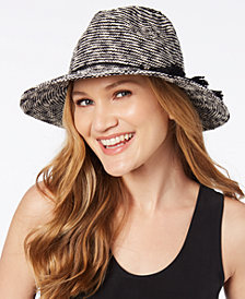 I.N.C. Striped Packable Hat, Created for Macy's